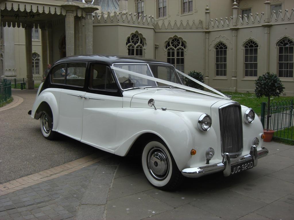 Vintage Wedding Dresses East Sussex: Classic Wedding Car In Uckfield